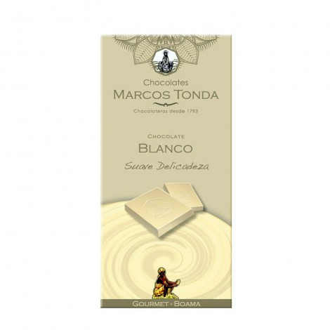 Chocolate blanco Gourmet 100g.