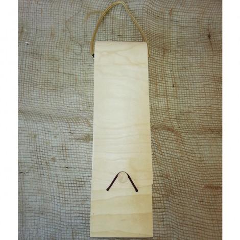 Caixa de fusta per a vi
