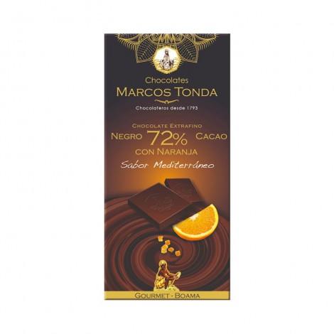 Chocolate negro 72% con...