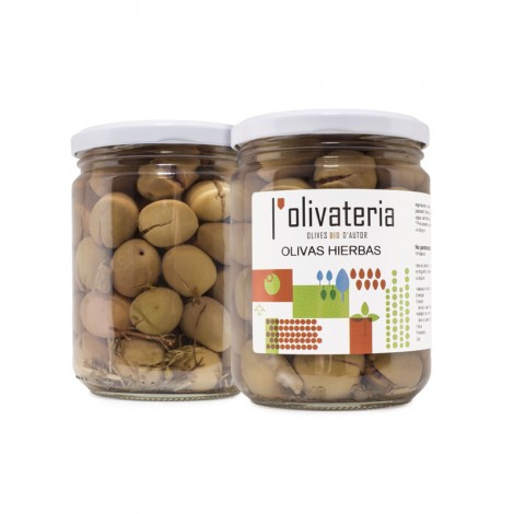 Olives ecològiques amb...