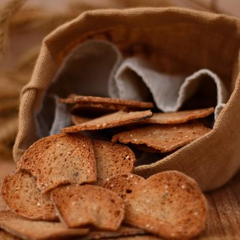 Pan tostado de trigo blanco...