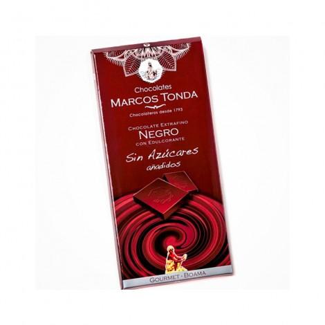 Chocolate negro Gourmet sin...